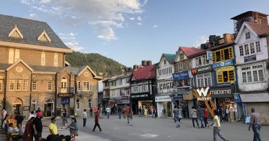 mall road in shimla