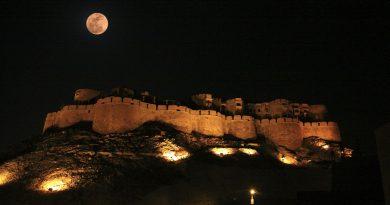 Jaisalmer Rajasthan in Night
